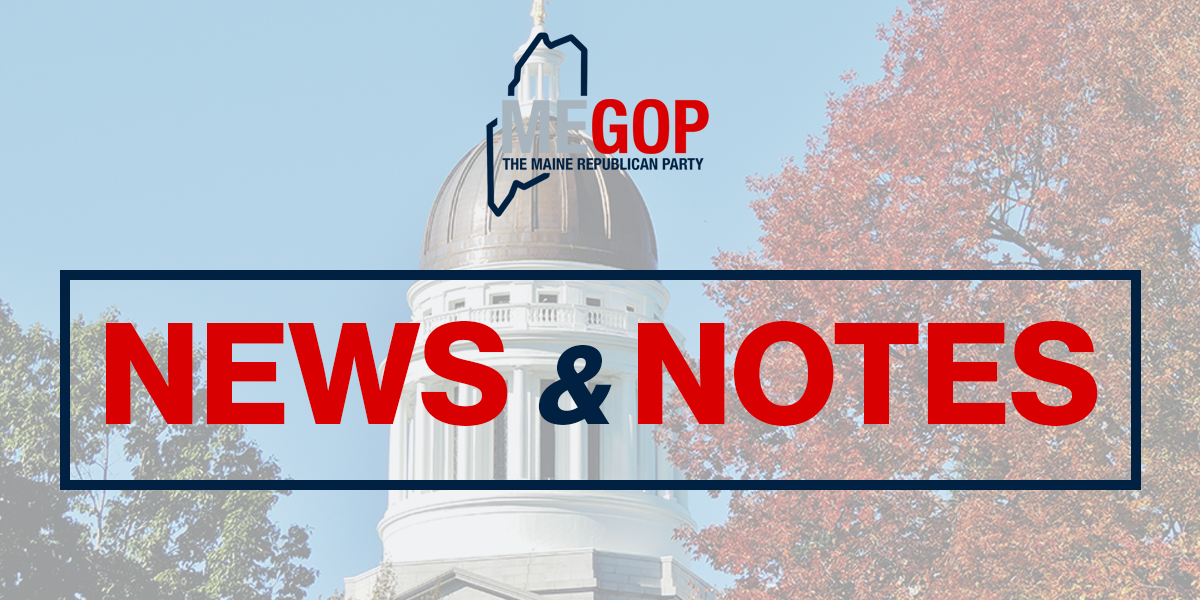 Maine GOP Applauds Federal Tax Reform Proposal – Maine GOP